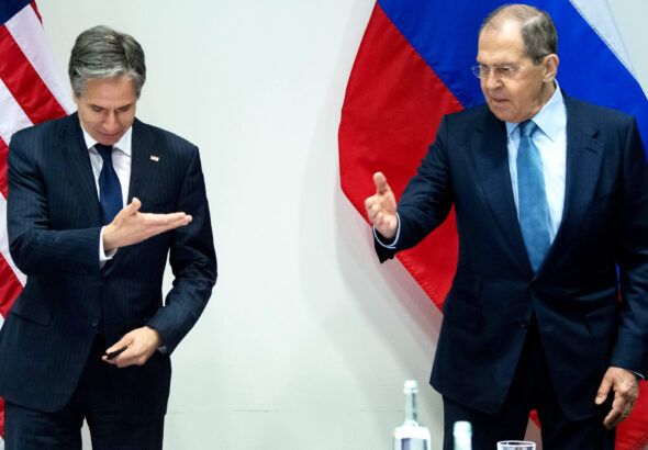 Blinken and Lavrov tread carefully in first face to face under Biden