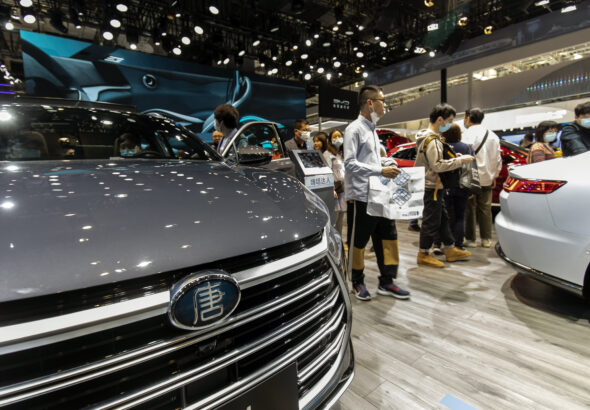 Warren Buffett-backed electric automaker BYD ships 100 cars to Norway