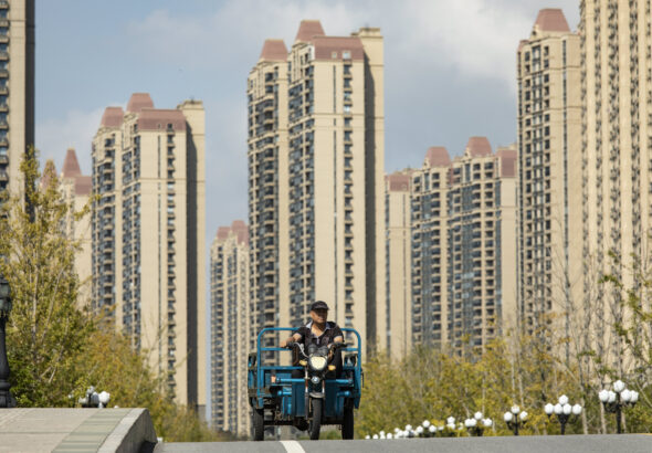 Chinese Estates shares pop after it sells off its shares in Evergrande