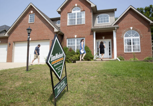 Mortgage demand falls as rates rise to highest level since July