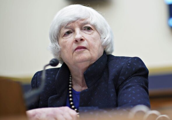Yellen lends support for effort to remove the debt ceiling altogether