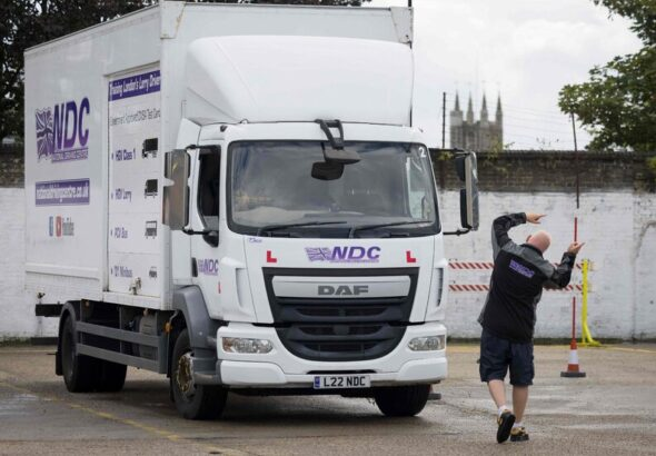 Britain Needs Truckers Fast. We Went to a School Where They Train.