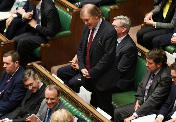 David Amess, Conservative Lawmaker in U.K., Is Reported Stabbed to Death