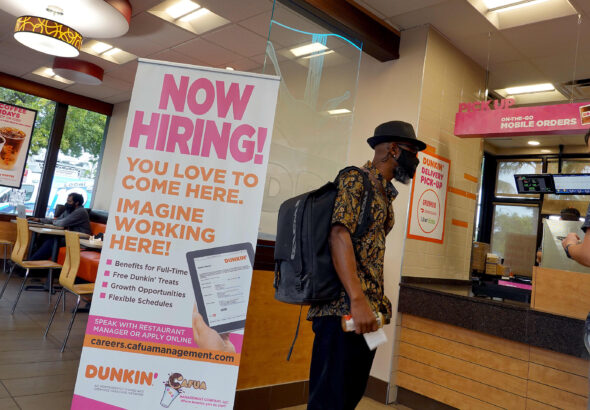 Restaurant unemployment rate falls to 7.5% in September