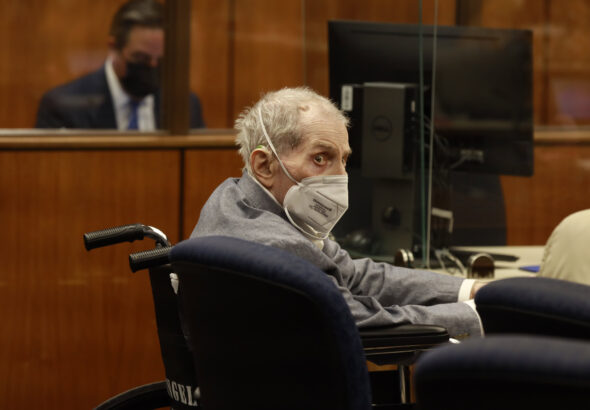 Robert Durst is hospitalized with Covid days after life sentence, his attorney says