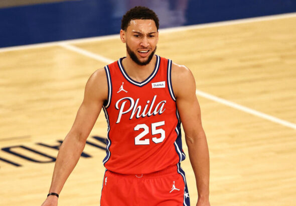 Some Sixers thought Ben Simmons lied about COVID-19 exposure to try to get out of Game 7 vs. Hawks, per report