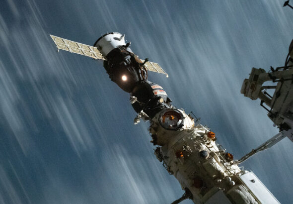 Space Station Emergency Prompted by Russian Thruster Firing