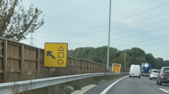 Squid Game Ahead? No, Just Directions, British Police Explain